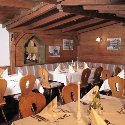 Restaurant Bauernstube im Hotel Buergerstuben Willingen