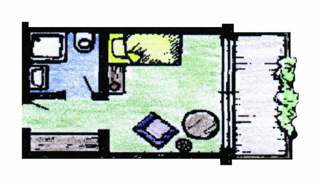 Einzelzimmer Typ Upland Bürgerstuben Willingen