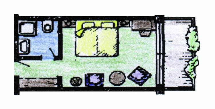 Doppelzimmer Typ Iberg Bürgerstuben Willingen