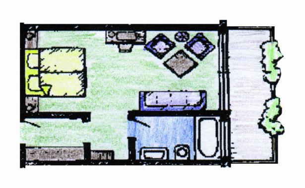 Doppelzimmer Typ Treis Bürgerstuben Willingen