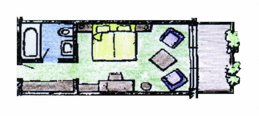 Komfort-Doppelzimmer Typ Ritzhagen Bürgerstuben Willingen