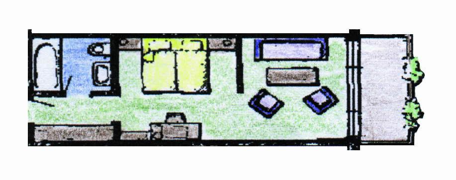 Komfort-Doppelzimmer Typ Ettelsberg Bürgerstuben Willingen
