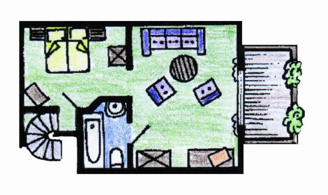 Appartment Typ Landhaus Bürgerstuben Willingen