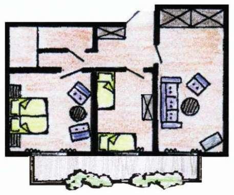 Suite Typ Residenz Bürgerstuben Willingen